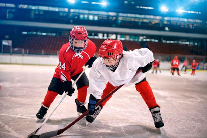 Видео хоккей секс для 8 лет