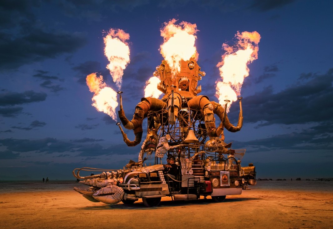 скульптура фестиваль «Burning Man»