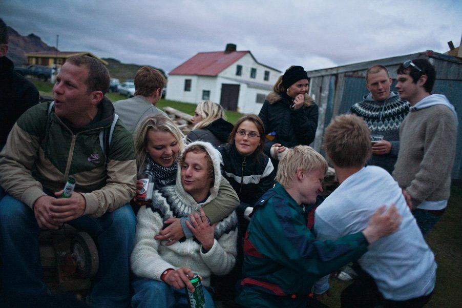 фото жизни в исландии пейзажей